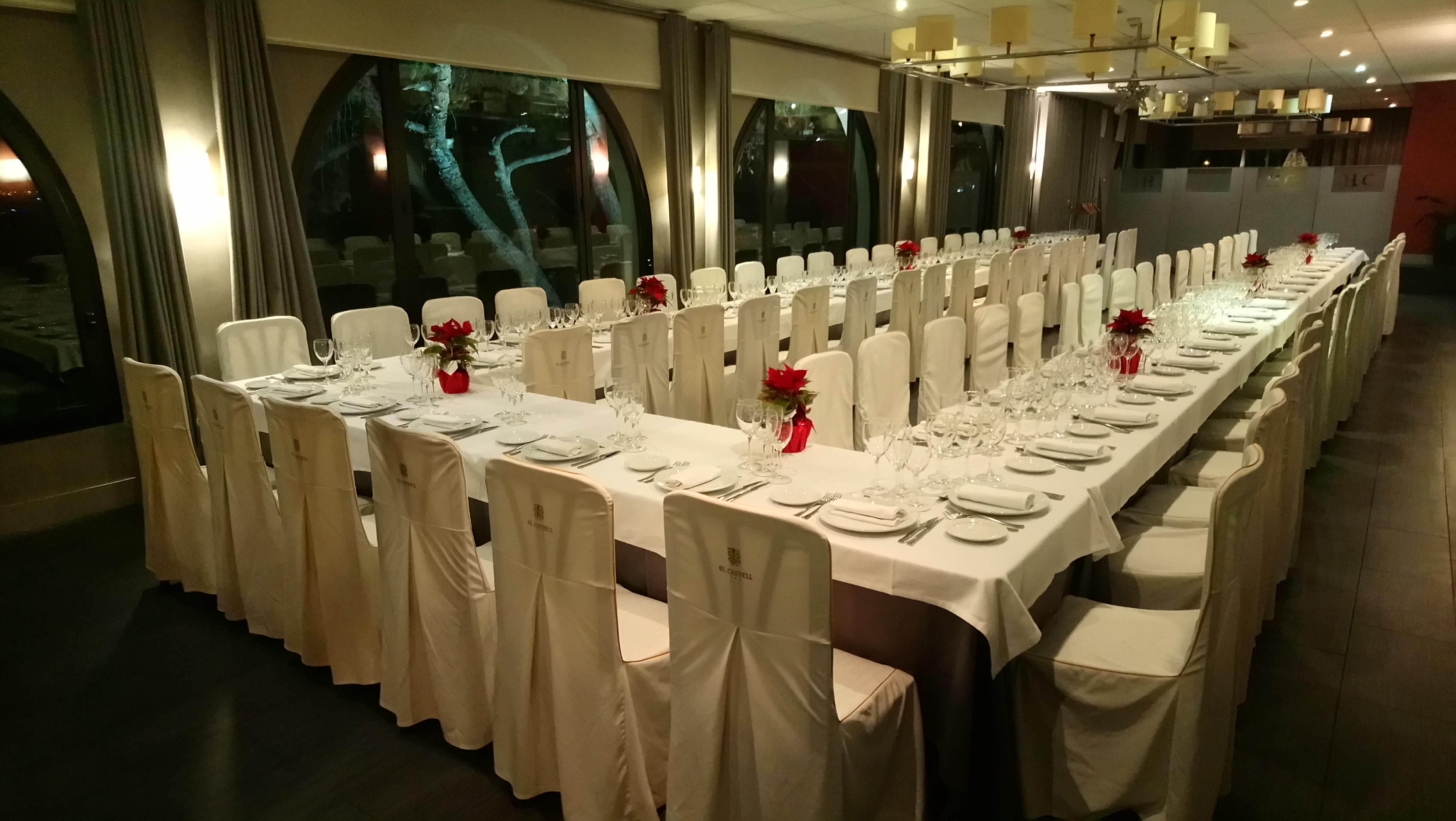 Dinars/sopars de Nadal d'empresa 2019